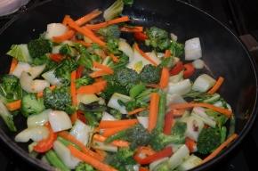 Organic Broccoli Asian Stifry