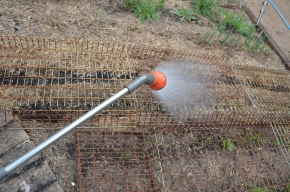 applying wetting agents to soil protecting your garden in summer summer gardening summer garden care seasol mpby myproductivebackyard my productive backyard kathy finigan nsw southern highlands australia mulching seedlings preparing your garden for drought.